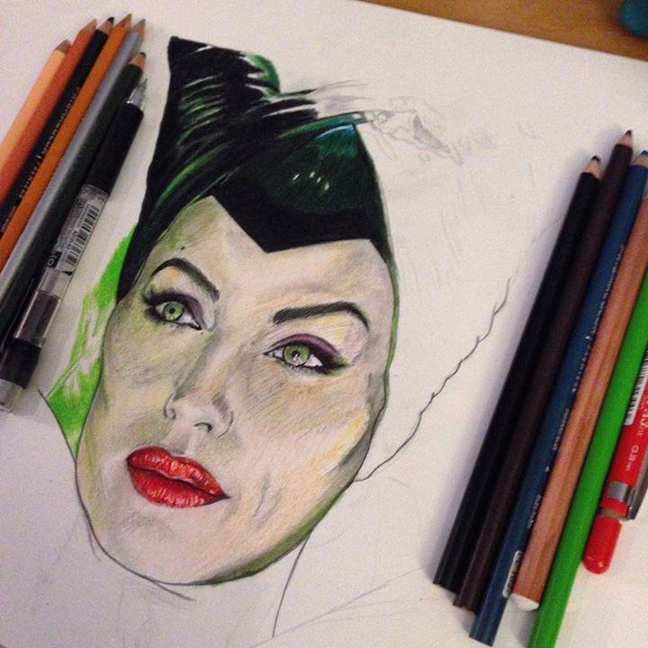 Maleficent WIP by Steve-Nice