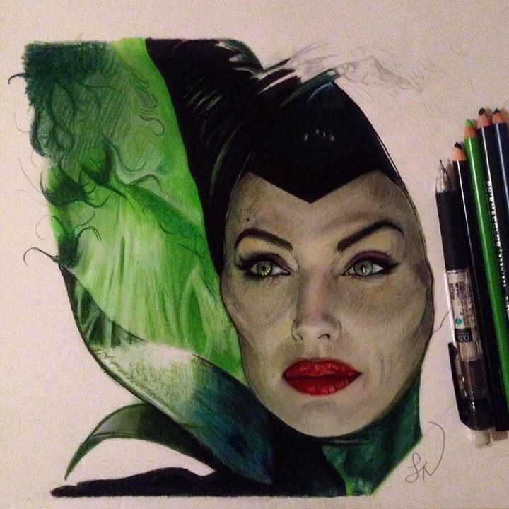 Maleficent WIP 3 by Steve-Nice