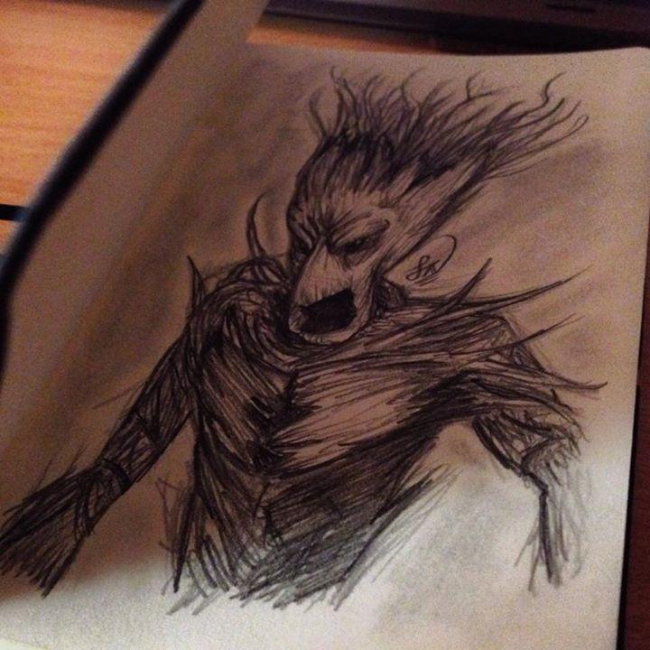 Groot Sketch by Steve-Nice