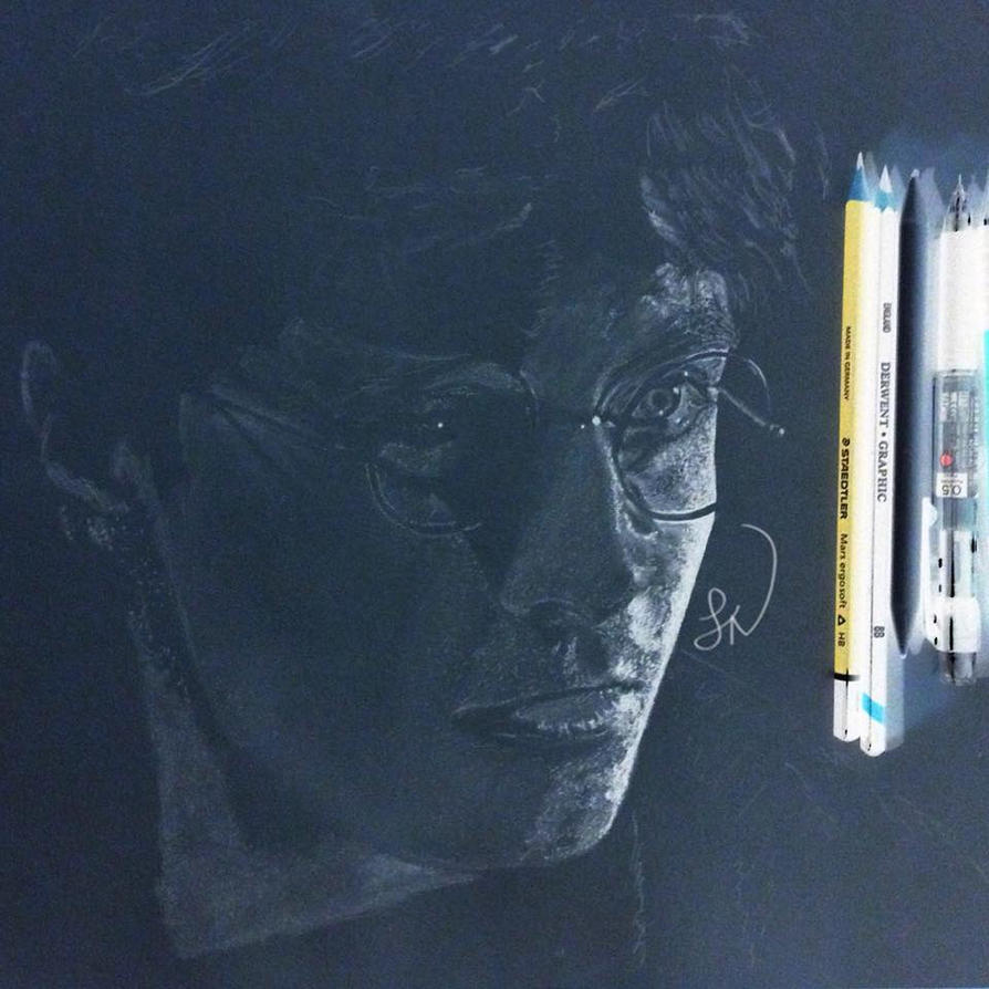 Harry Potter Inverted Drawing WIP 3 by Steve-Nice