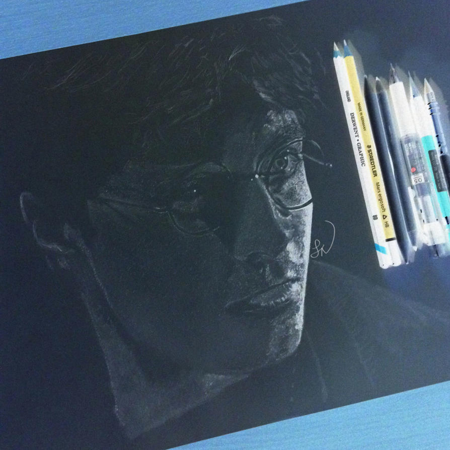 Harry Potter Inverted Drawing by Steve-Nice