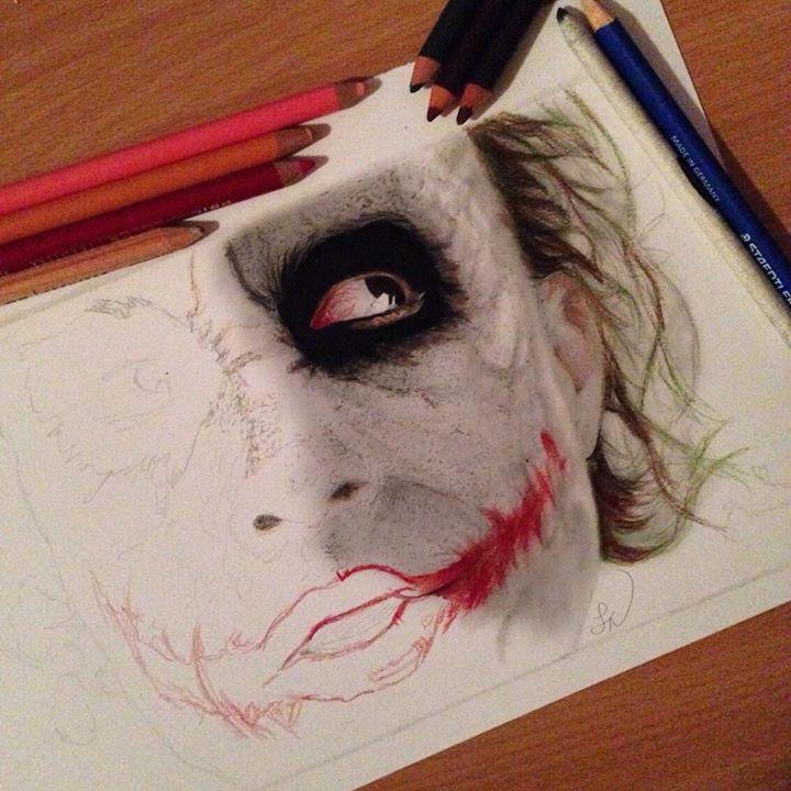 Joker WIP 3 by Steve-Nice