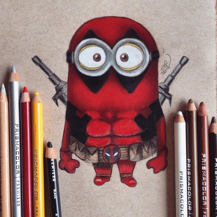 Minion Deadpool by Steve-Nice