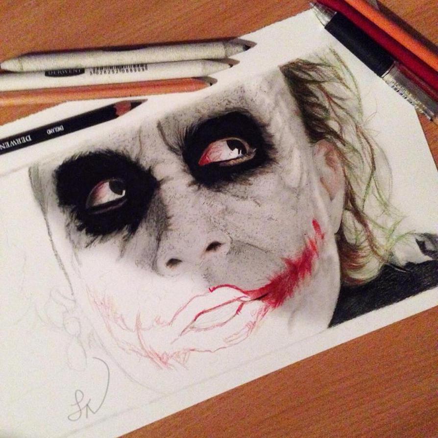 Joker WIP 4 by Steve-Nice