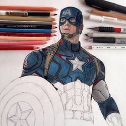 Captain America WIP 2