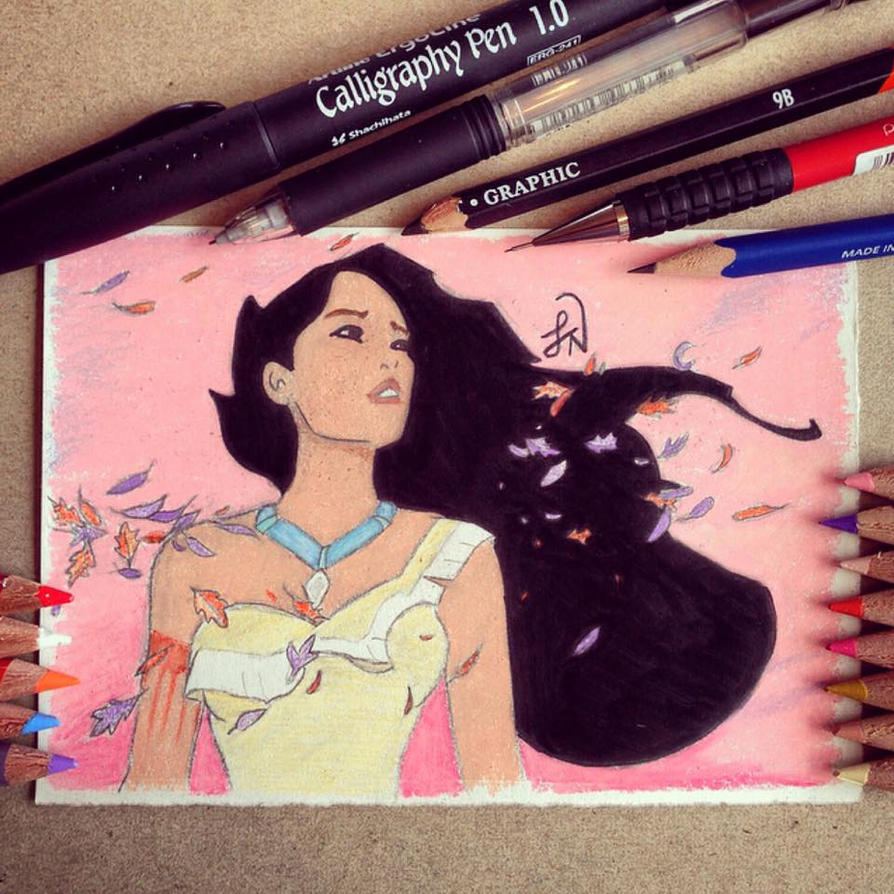 Pocahontas by Steve-Nice