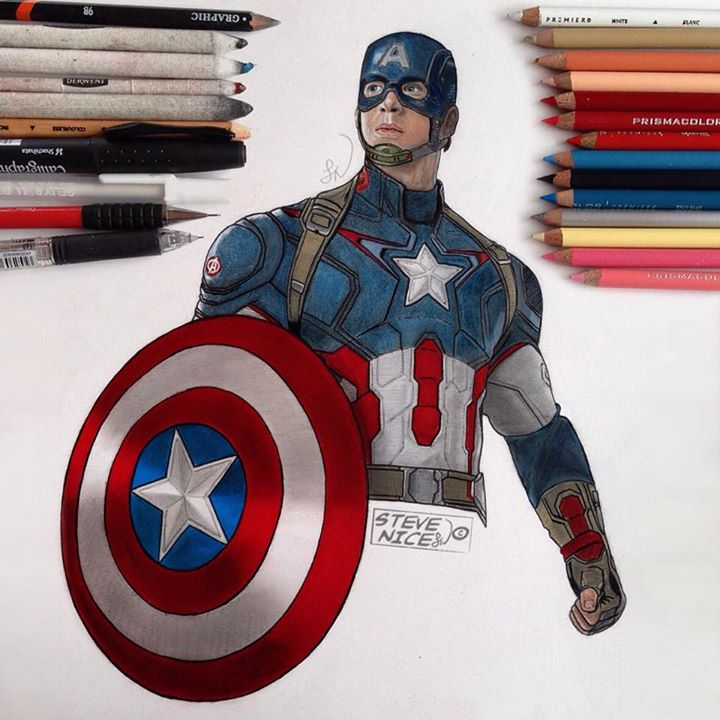 Captain America by Steve-Nice