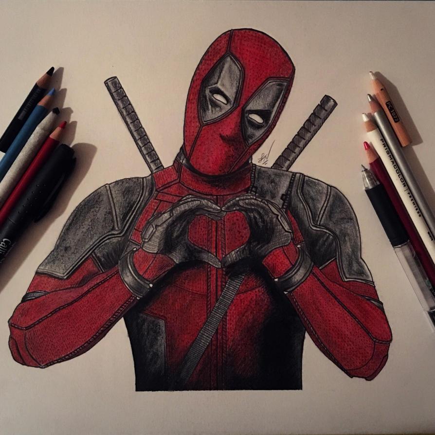 Deadpool by Steve-Nice