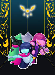 Deltarune by TheDuckofIndeed