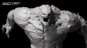 Granox 3D prototype by BlazenMonk