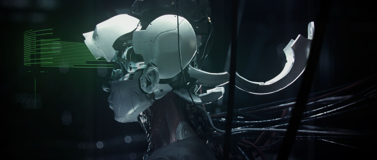 Ghost in the Shell - Mech Head