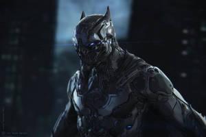 The Dark Knight by BlazenMonk