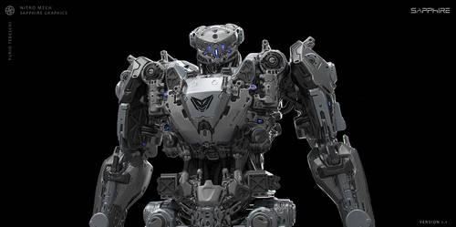 Nitro Mech for Sapphire Tech R9 Series by BlazenMonk
