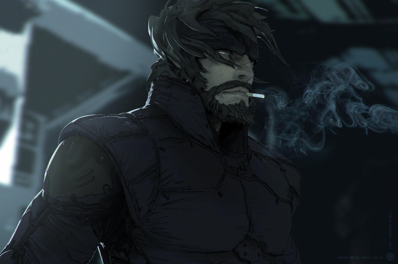 Snake Metal Gear Solid by BlazenMonk