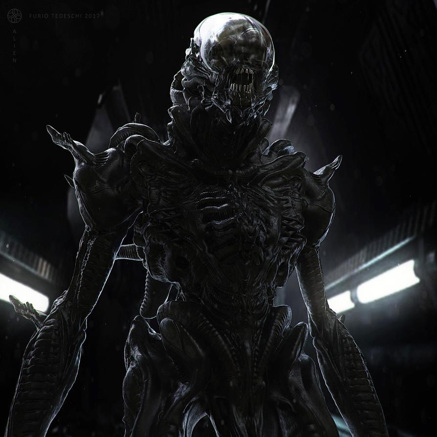 Alien by BlazenMonk