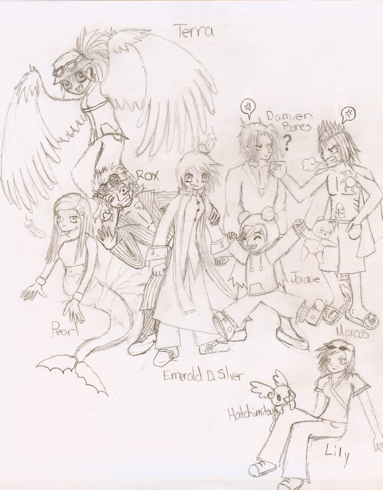 One Piece Fanfiction OC Crew by 1pieceluver on DeviantArt