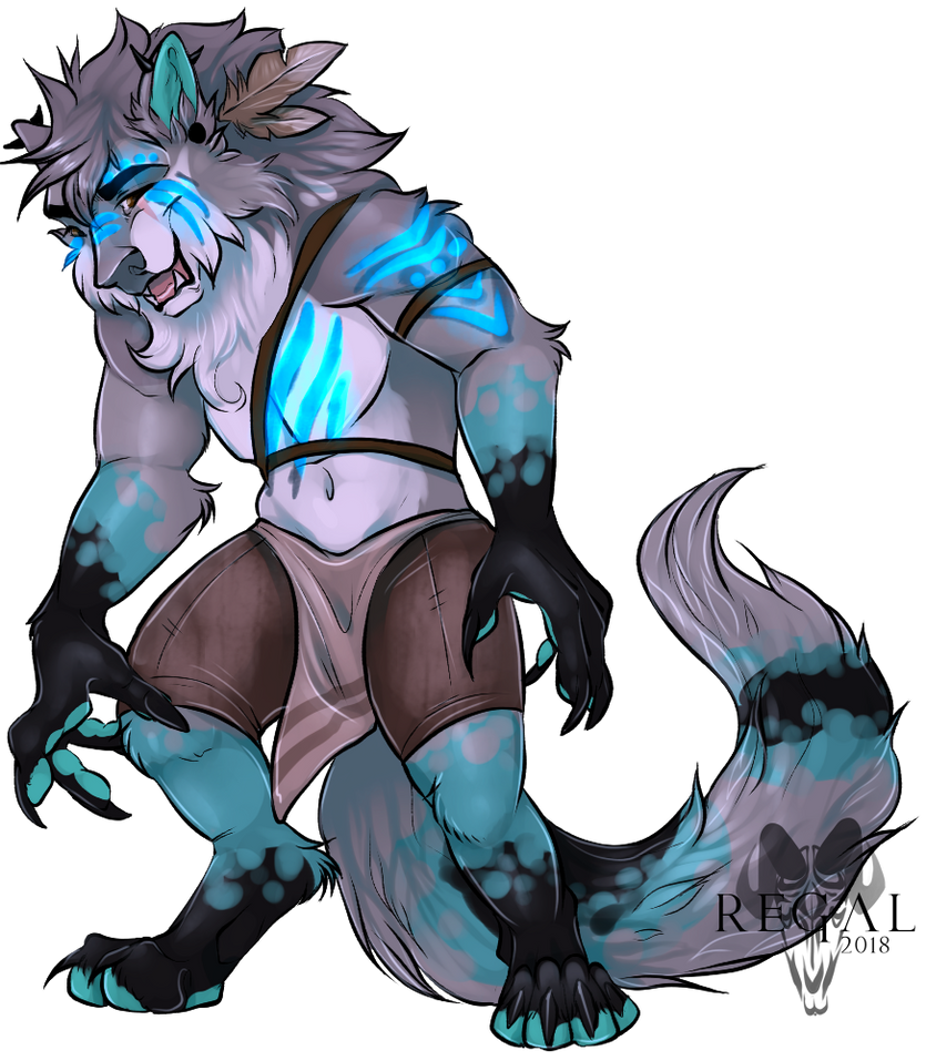 Werewoof Boyfren [GIFT] by Regalities