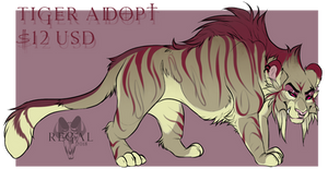 Tiger Adopt $12 SOLD