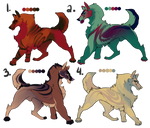 $15 Canine Adopts (OPEN) by Regalities