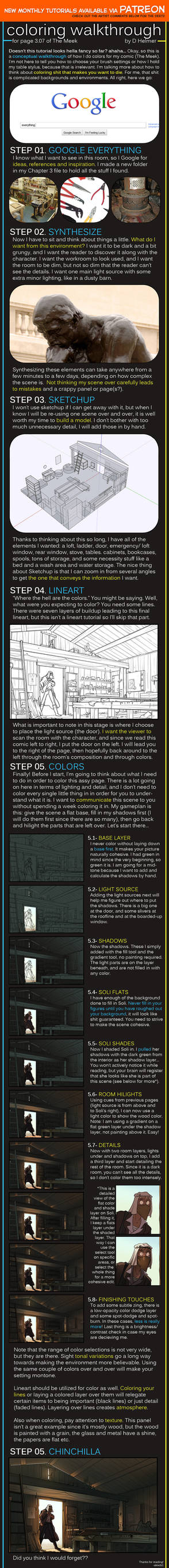 Coloring Walkthrough