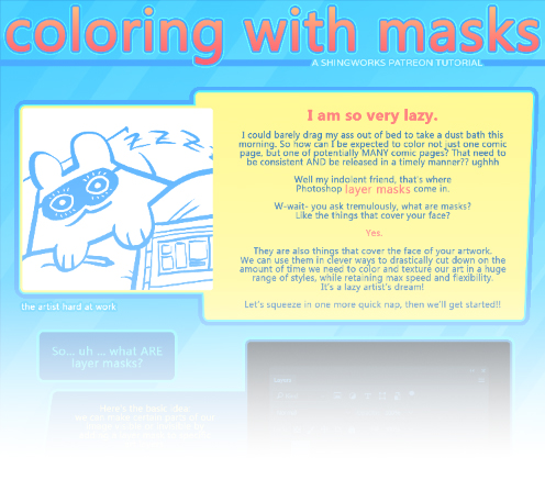 Layer Mask Painting Tutorial (preview) by shingworks