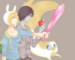 Adventure Time by virinn