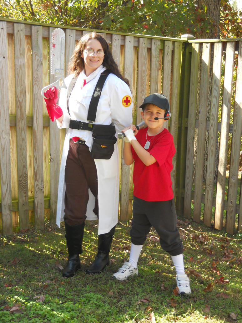 Medic and Scout by LusheetaLaputa