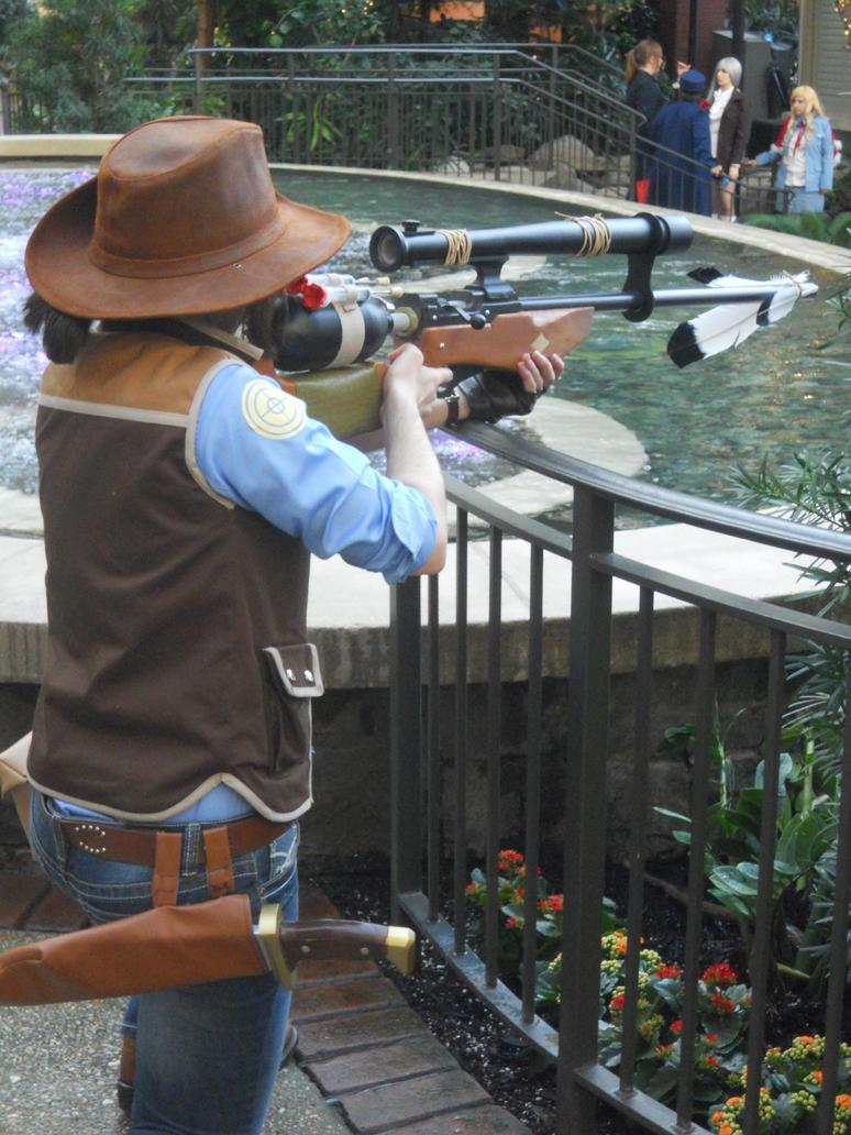 Katsucon 2012: BLU Sniper 2 by LusheetaLaputa