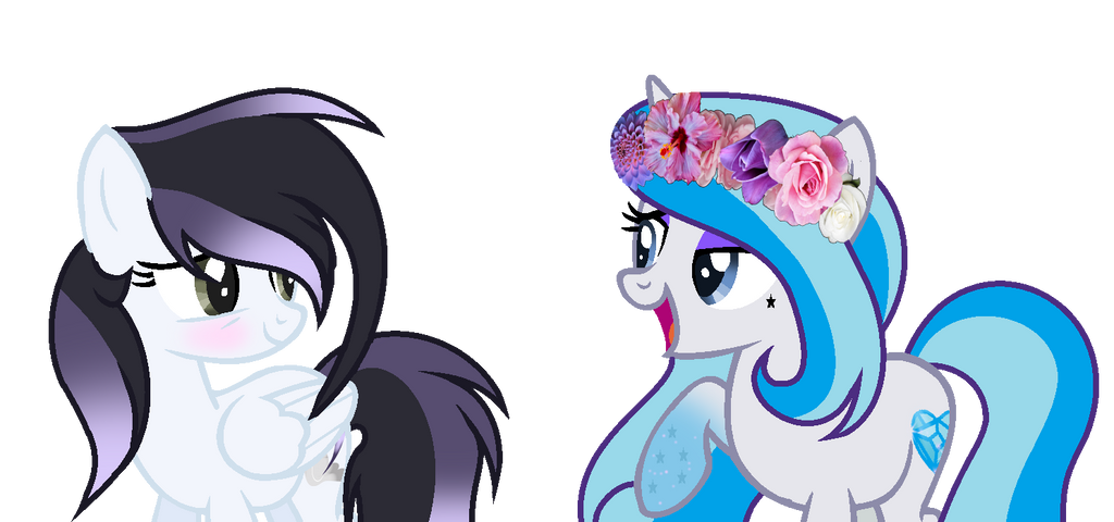I actually love your flower crowns by CookieBases20