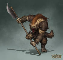 Gnoll Concept by Paul Davies by Mikedeangelo