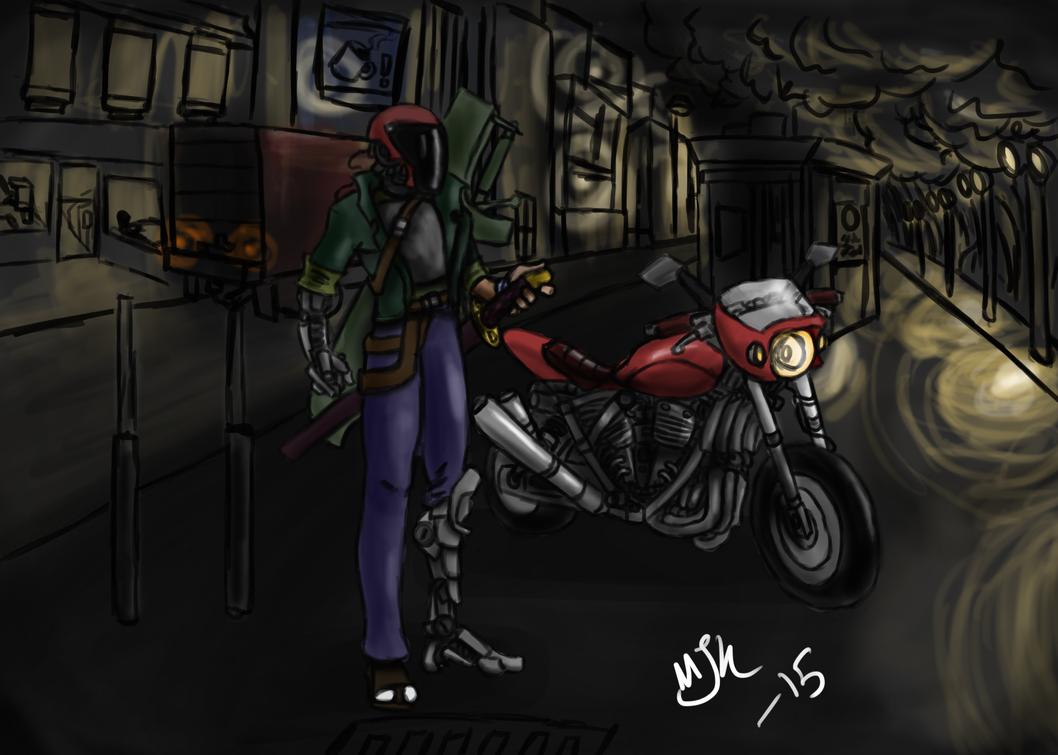 Street Samurai by Gochira