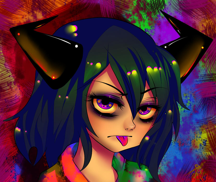 Tamikai..Acid Trip by InuYashaxLover