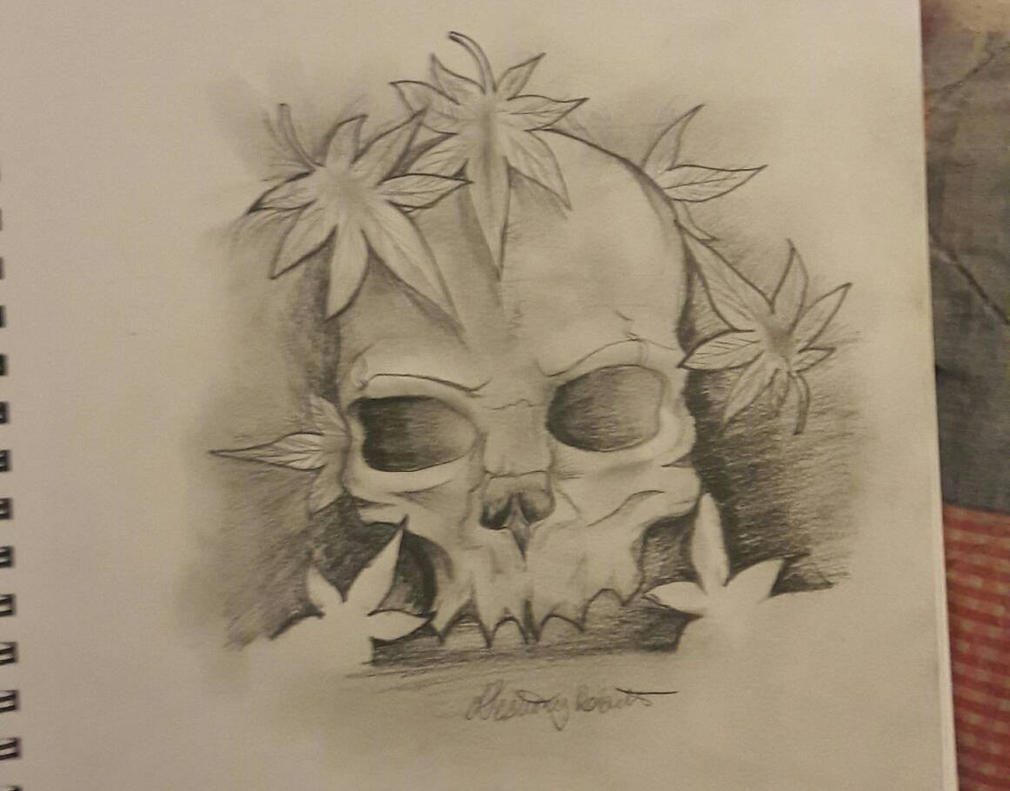 Skulls and Green by Destineyishere