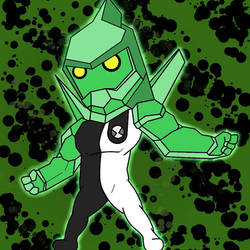 Chibi Diamondhead by RexArvind by RexArvind
