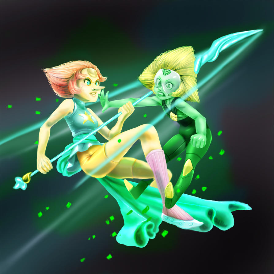 Pearl e Peridot alternate version by tiocleiton
