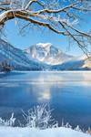 langbathsee in winter mood