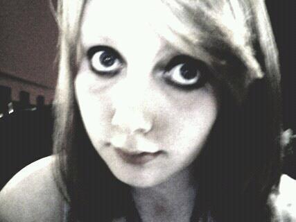 I wear so much eye-liner.