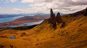 Old Man of Storr by bongaloid