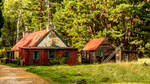 Cabins In The Woods by bongaloid