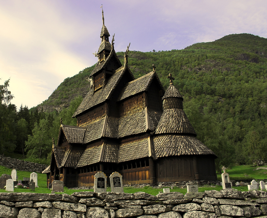 Perfect Borgund Stave Church By Bongaloid ...