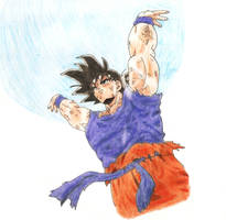 Goku Genkidama by Rodrigowski