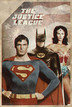 Justice League 1980 Poster