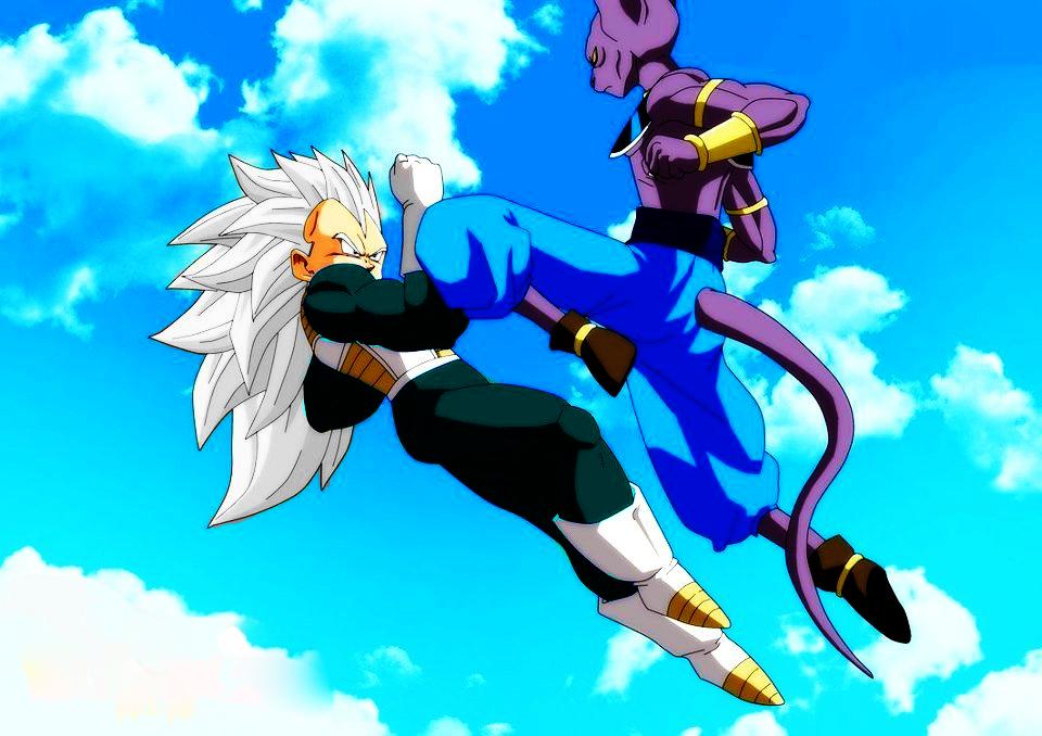 Vegeta Vs Bills Dragon Ball Z By Gokuxdxdxdz On Deviantart