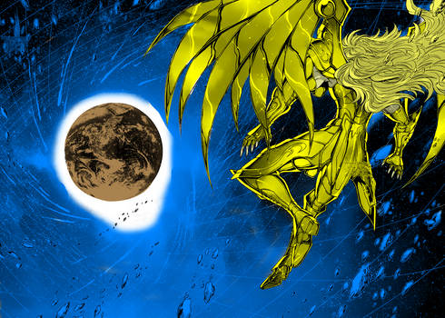 Saint Seiya Saintia Sho  Manga Color Art