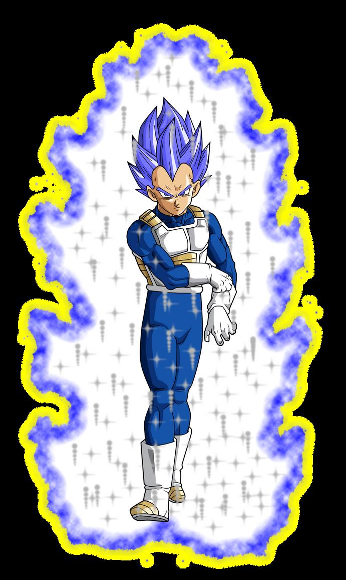 Vegeta Ultra Instinct Ssj God Blue [Aura] by GokuXdxdxdZ ...