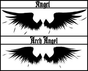 Tattoo: Angel, Arch Angel by Kenji-Himonatashi