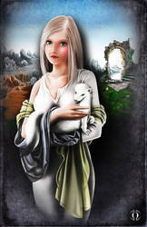 The Lady and the Ermine by AngeloQuintero