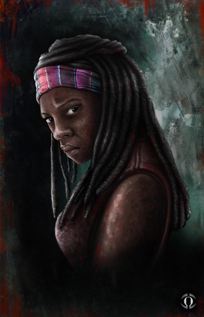 Michonne by AngeloQuintero