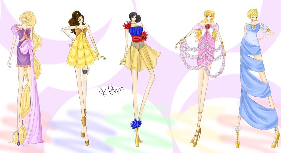 Disney princess fashion girl 29