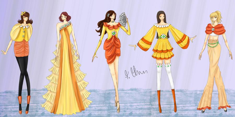 Mario's Fashion Fantasy: Daisy by wondagirl